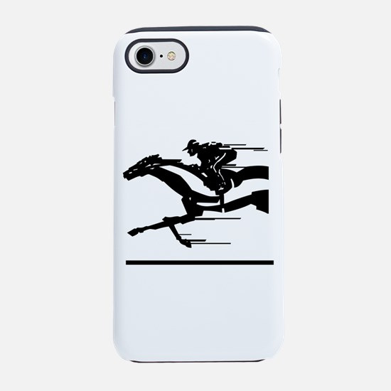 Horse Racing Iphone 7 Tough Case