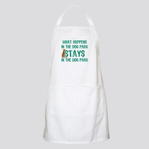 Stays In The Dog Park BBQ Apron