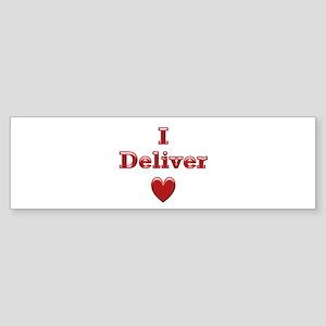 Deliver Love in This Bumper Sticker
