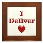 Deliver Love in This Framed Tile