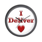 Deliver Love in This Wall Clock
