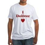 Deliver Love in This Fitted T-Shirt