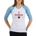 Deliver Love in This Jr. Raglan