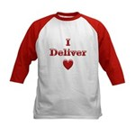 Deliver Love in This Kids Baseball Jersey