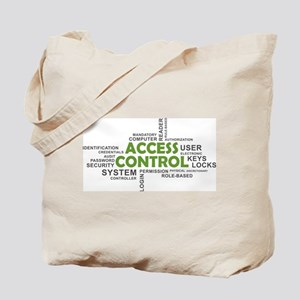 word cloud - access control Tote Bag