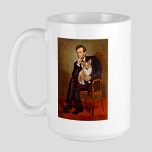 Lincoln's Corgi Large Mug