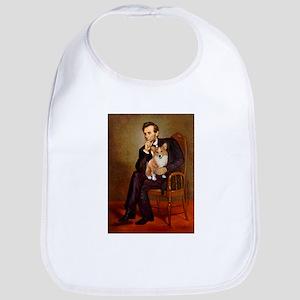 Lincoln's Corgi Bib