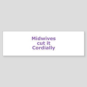Cut it in this Bumper Sticker