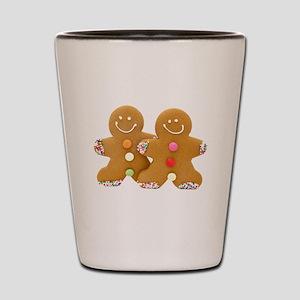 Gingerbread Men Shot Glass