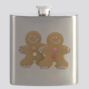 Gingerbread Men Flask