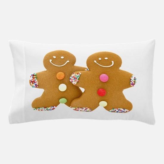 Gingerbread Men Pillow Case