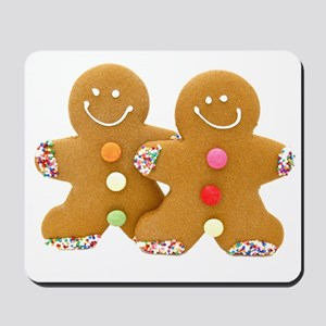 Gingerbread Men Mousepad