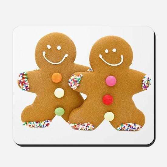 Gingerbread Men Mousepad