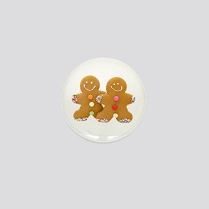 Gingerbread Men Mini Button