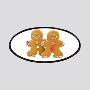 Gingerbread Men Patches