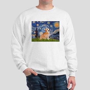 Starry Night Corgi Sweatshirt