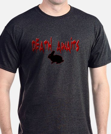 Death Awaits - Rabbit T-Shirt