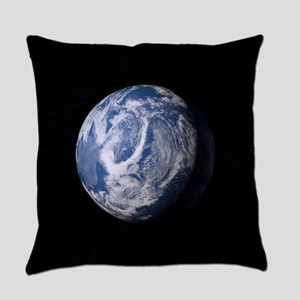Blue Plant Earth Everyday Pillow