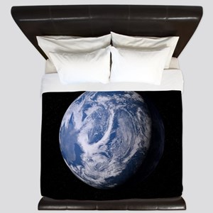 Blue Plant Earth King Duvet