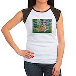 Bridge / Corgi Women's Cap Sleeve T-Shirt
