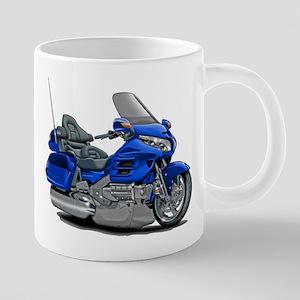 Goldwing Blue Bike Mugs