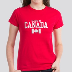 Made in Canada Women's Dark T-Shirt