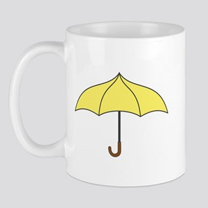 Yellow Umbrella Mug Mugs
