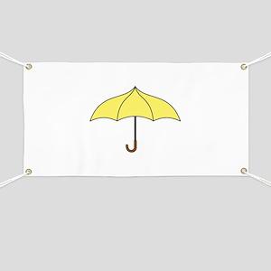 Yellow Umbrella Banner