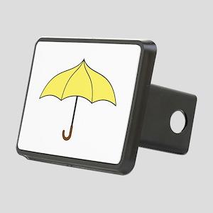 Yellow Umbrella Rectangular Hitch Cover