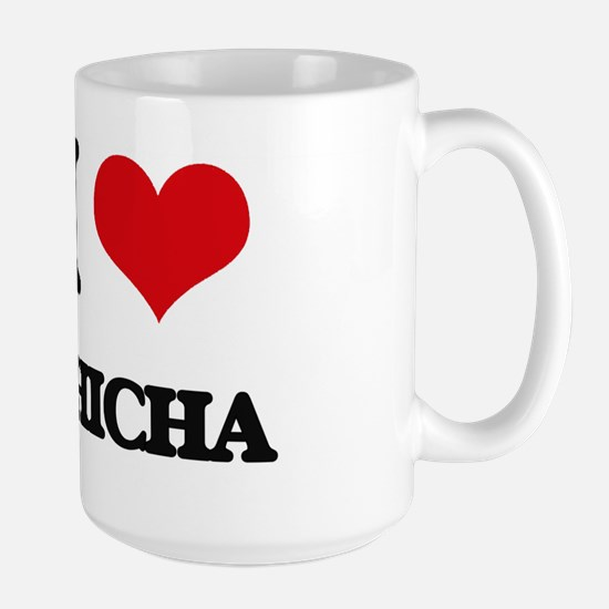 I Love CHICHA Mugs