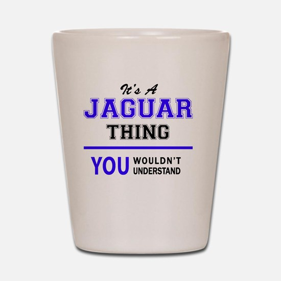 Funny Jaguar Shot Glass