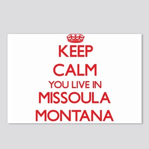 Keep calm you live in Mis Postcards (Package of 8)