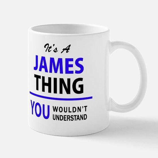 Cute James Mug