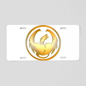 Dragon Circle Aluminum License Plate