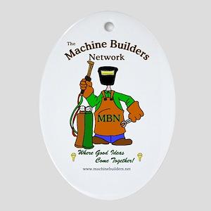Machine Builders Keepsake (Oval)