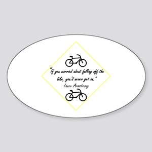Armstrong Oval Sticker
