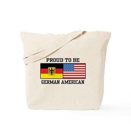 Proud To Be German American Tote Bag
