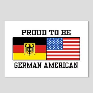 Proud To Be German American Postcards (Package of