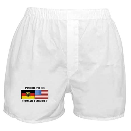 Proud To Be German American Boxer Shorts