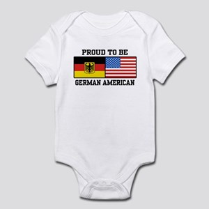 Proud To Be German American Infant Bodysuit