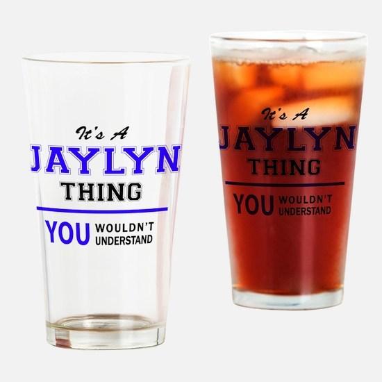 Unique Jaylyn Drinking Glass