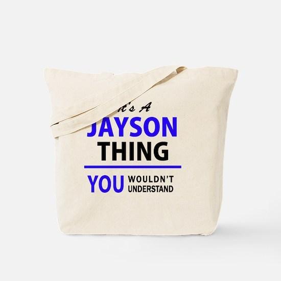 Unique Jayson Tote Bag