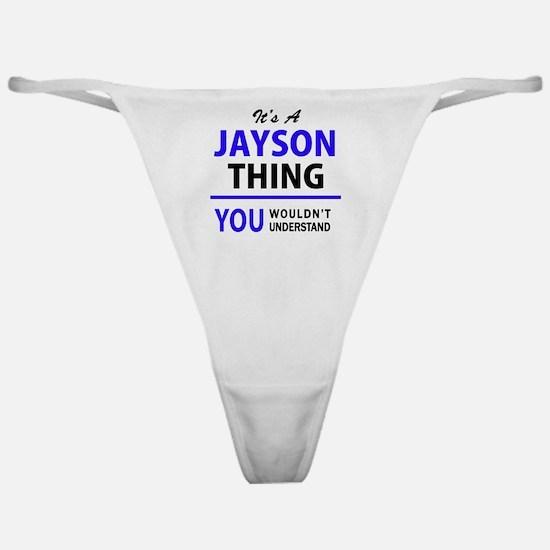 Unique Jayson Classic Thong