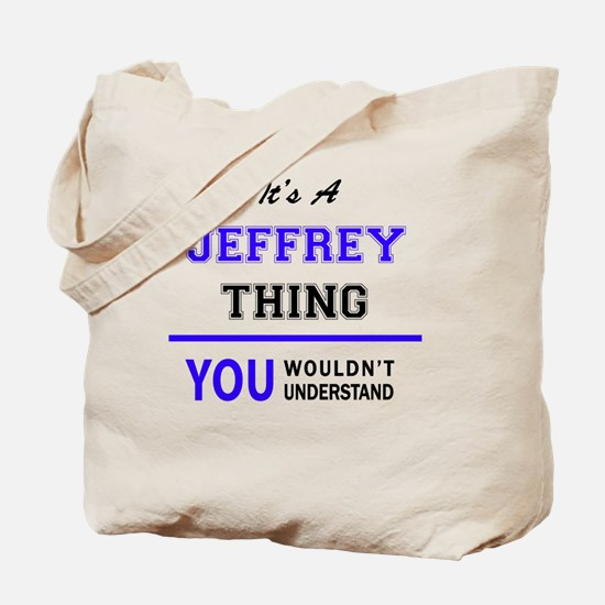 Cute Jeffrey Tote Bag