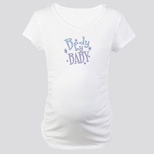Body by Baby (blue) Maternity T-Shirt