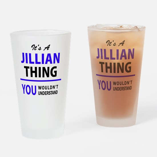 Unique Jillian Drinking Glass
