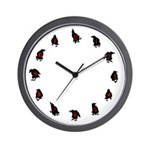Ravendance Wall Clock