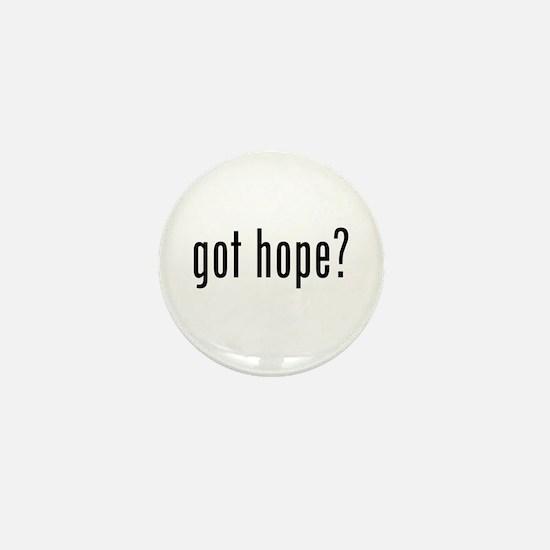 Unique Got hope Mini Button