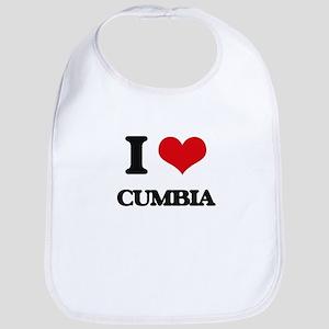 I Love CUMBIA Bib
