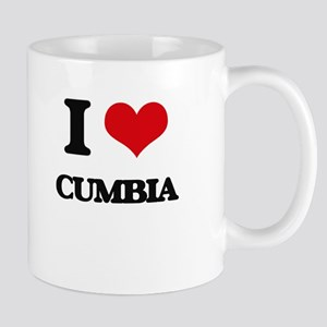 I Love CUMBIA Mugs